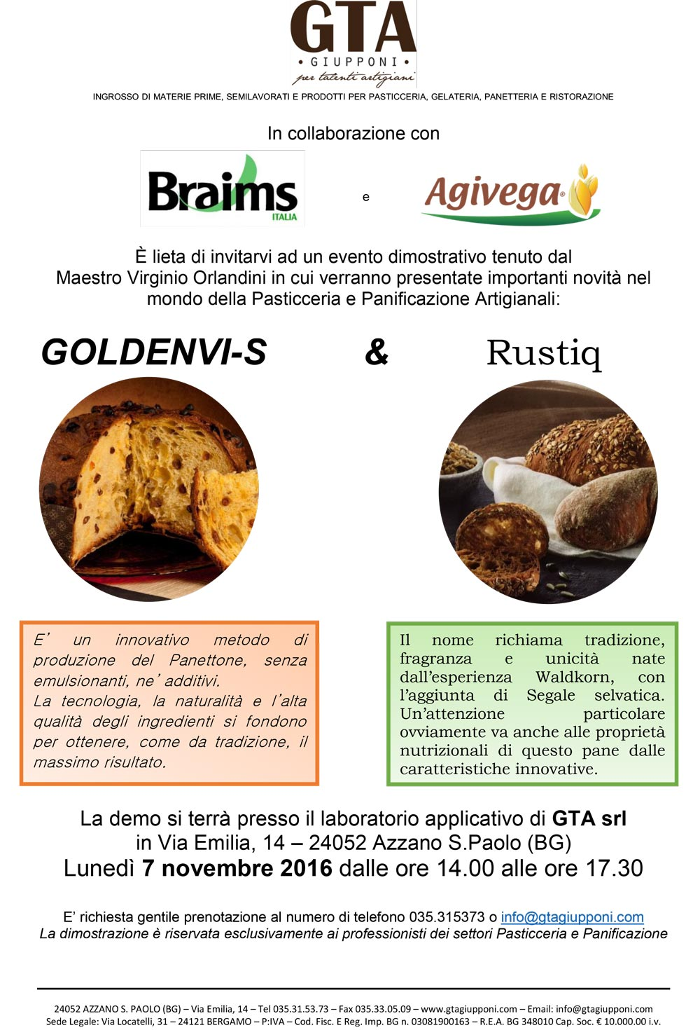 Demo Braims Agivega