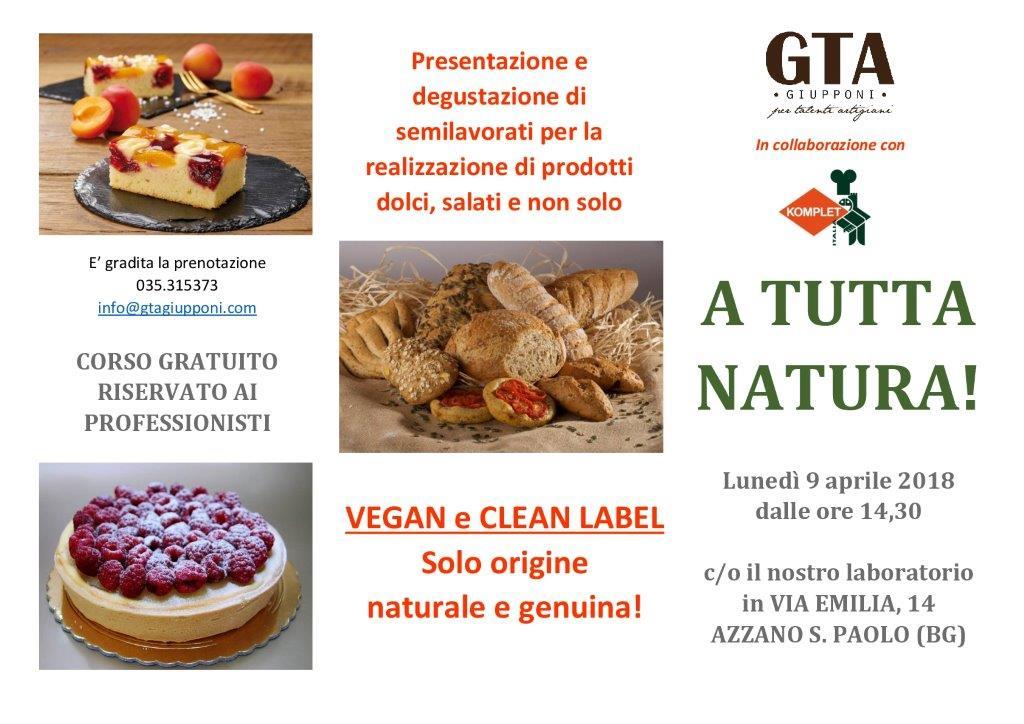 9 Aprile 2018 – A Tutta Natura!