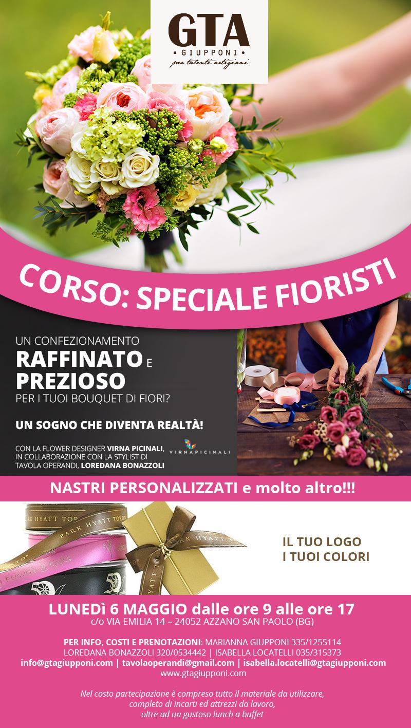6 Maggio 2018 – Corso: Speciale Fioristi