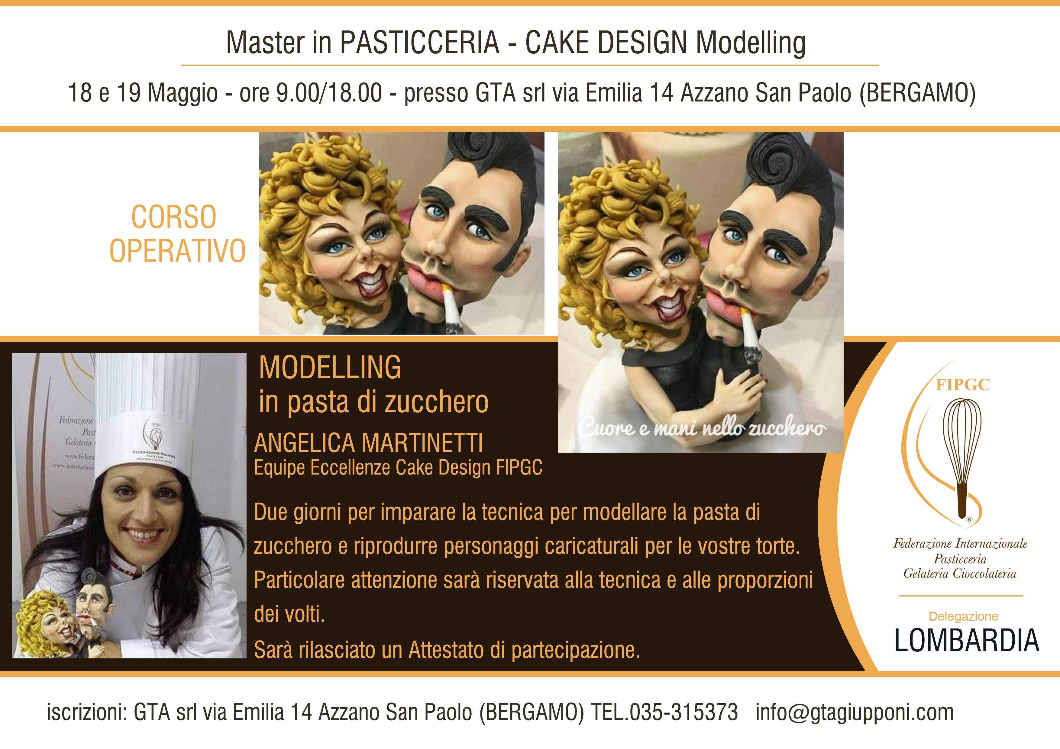 18-19 Maggio 2019 – Master In Pasticceria Cake Design