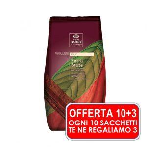 CACAO 22-24% EXTRA BRUTE DA KG.1 – PROMO 13 Sacchetti