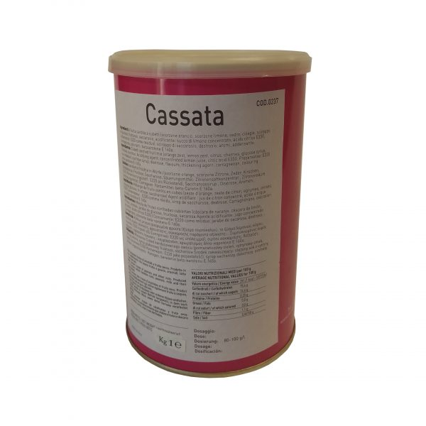 PASTA CASSATA KG.1