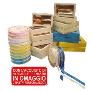 Packaging – PROMO 60 Scatole + 13 Nastri (di Cui 3 Personalizzati In OMAGGIO)